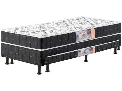 Tudo sobre 'Cama Box Solteiro Umaflex Conjugado - com Cama Auxiliar de Mola 22cm de Altura Bibox'
