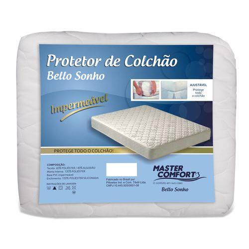 Cama Solteiro - Protetor Antialérgico Impermeável para Colchão Solteiro
