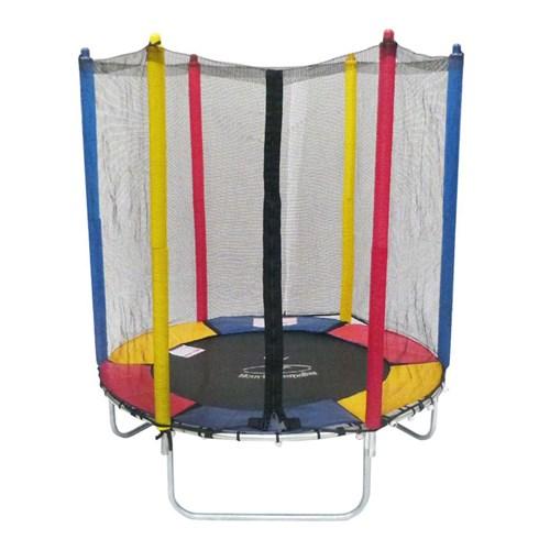 Cama Elástica 1,40m Henri Trampolim Linha Kids Multicolorido