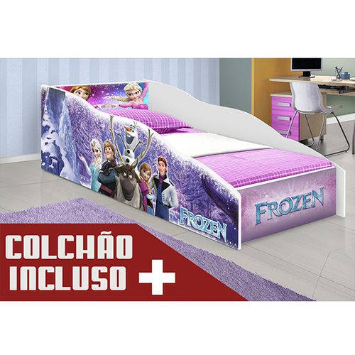 Cama Infantil Frozen com Colchão