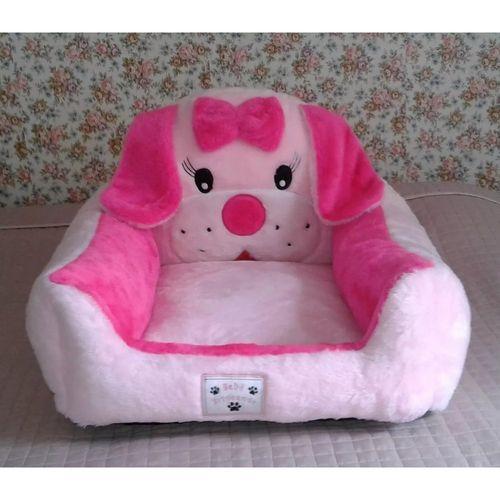 Tudo sobre 'Cama para Cachorro Pelúcia Rosa com Pink P'