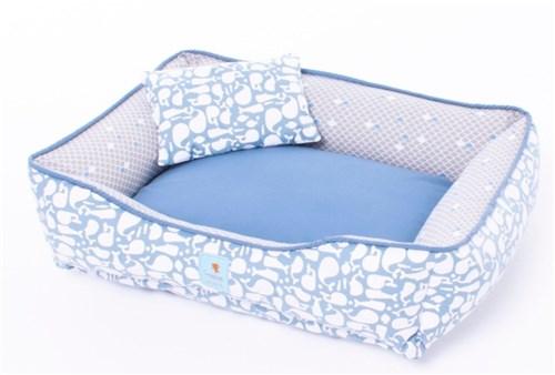 Cama para Cachorros Ayla Azul - PE10144-P
