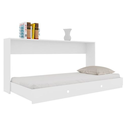 Cama Solteiro Articulável Sun Cs2080 Branco - Art In Móveis
