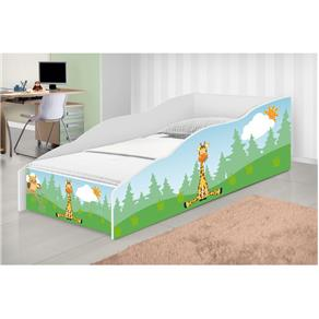 Cama Infantil Play Girafa - Branco