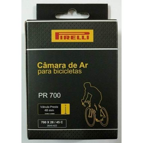 Câmara 700 Pirelli Valvula Presta 60mm