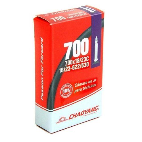 Câmara Chaoyang 700X18/23c Válvula Presta 48mm