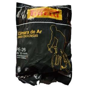 Câmara de Ar Pirelli 26 X 1.75/2.00 PE-26 AV 33mm