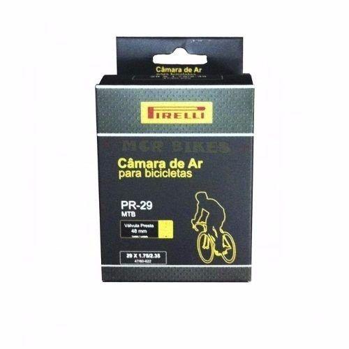 Câmara de Ar Pirelli Mtb 29er Válvula Presta 48mm