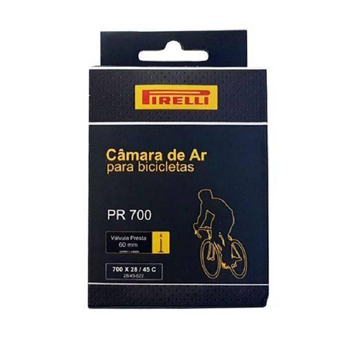 Câmara Pirelli PR700 700x28/45c Válvula Presta 60mm