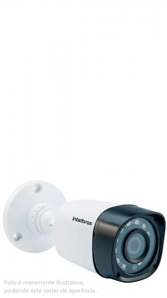 Câmera 20 Mt 2.6 Mm Multi Hd Vhd 1120b Ir G4 Bullet Intelbras