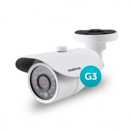 Câmera Ahd ou 1000 Linhas 2,8mm 20m Vm 3120 Ir G3 Intelbras