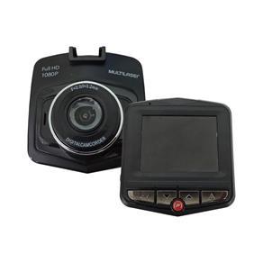"""Câmera Automotiva DVR Fit Full HD LCD 2.2"""" Preto Multilaser"""