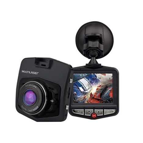Câmera Automotiva Dvr Hd Gravadora Multilaser Au021