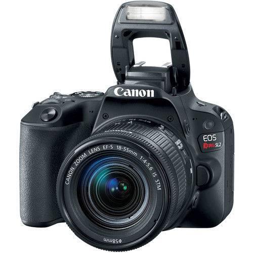 Tudo sobre 'Câmera Canon Sl2 18-55mm Is Stm'