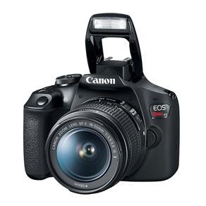 Câmera Canon T7 Eos Rebel Wi-Fi e Lente 18-55Mm Is Ii