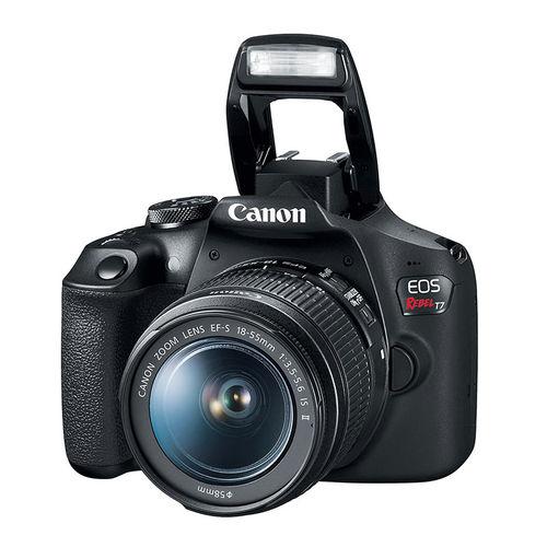 Tudo sobre 'Câmera Canon T7 Eos Rebel Wi-fi e Lente 18-55mm Is Ii'