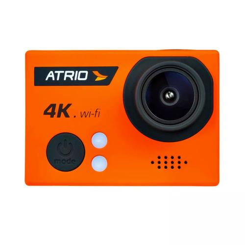 Câmera de Ação Atrio Fullsport Cam 4k Laranja