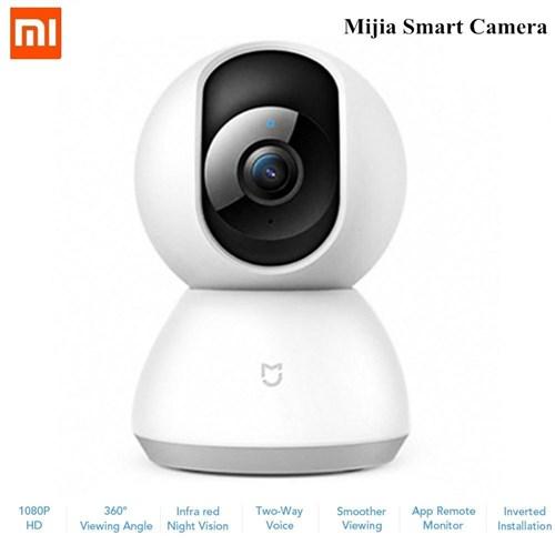 Câmera de Vigilância IP Xiaomi HD 1080p 360° Visão Noturna