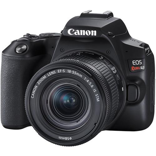 Camera Digital Canon Sl3 com Lente 18-55mm