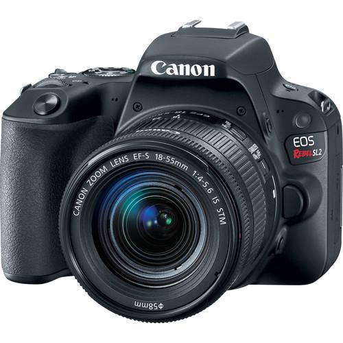 Camera Digital Canon Sl2 com Lente 18-55mm