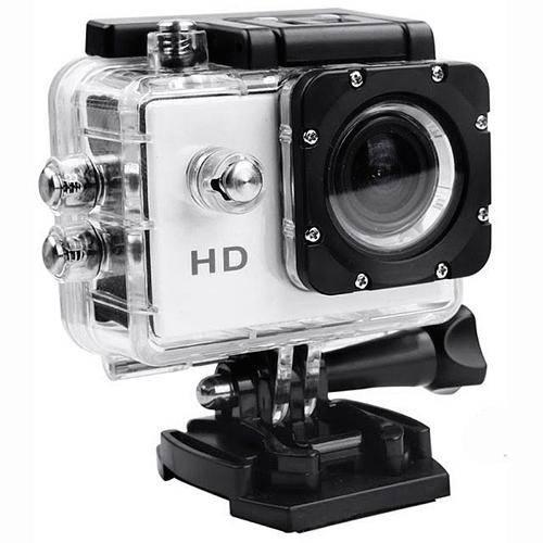 Tudo sobre 'Câmera Filmadora Esportiva - Sports 720 - Wi Fi - Prata.'