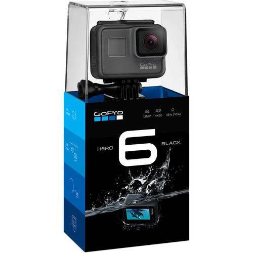 Tudo sobre 'Câmera Go Pro Hero 6 Black HD Chdhx-601'