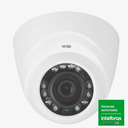 Camera Intelbras Infra Dome Hdcvi 720p Vhd 1010d 3,6mm + Nfe