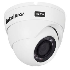 Câmera Dome Infravermelho Multi HD 4 em 1 Intelbras VHD 1010D G3 HD 720p 3,6mm - HDCVI, HDTVI, AHD, ANALÓGICO
