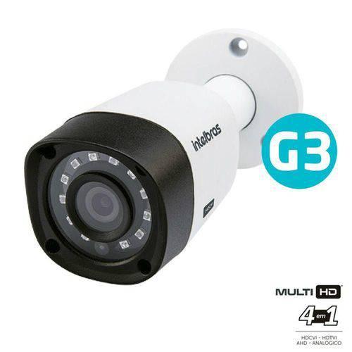 Câmera Intelbras Multi HD 3.6 Mm 20 Mts VHD 1220B Full HD C/infr. G3 - 1080P