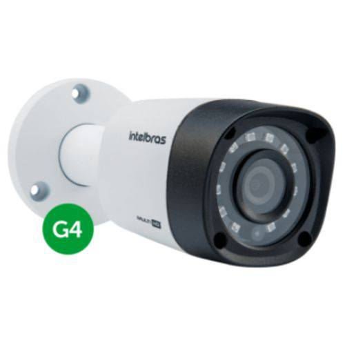 Câmera Intelbras Vhd 1010 B Bullet G4 HD 720p