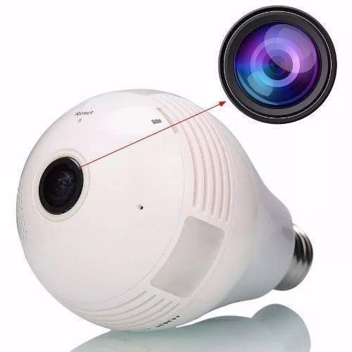 Tudo sobre 'Camera Ip Seguraca Lampada Panoramica Espia'