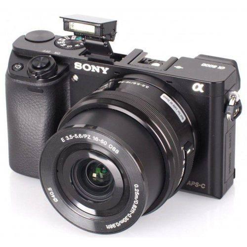 Tudo sobre 'Câmera Sony A6300 com Lente 16-50mm 4k'