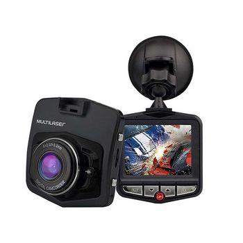 Câmera Veicular DVR 1080p Hd Sensor Movimento + Looping + Visão Noturna Multilaser - AU021 AU021