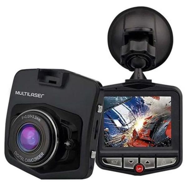 Camera Veicular DVR Multilaser AU021 1080p HD Sensor Movimento Looping e Visão Noturna