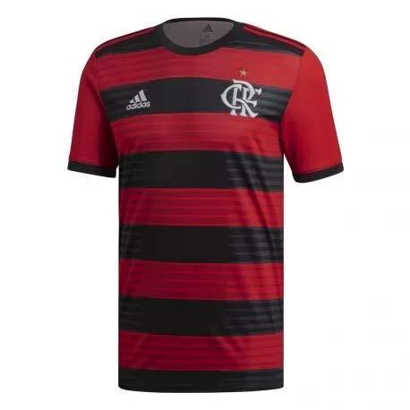 Tudo sobre 'Camisa Adidas Flamengo I 2018 S/MRV FK9531 (P)'