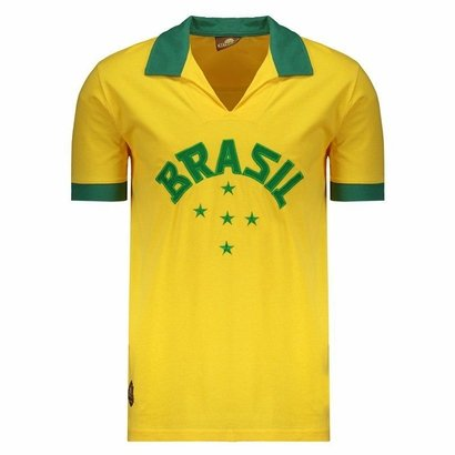 Tudo sobre 'Camisa Brasil Retrô 1952 Masculina'