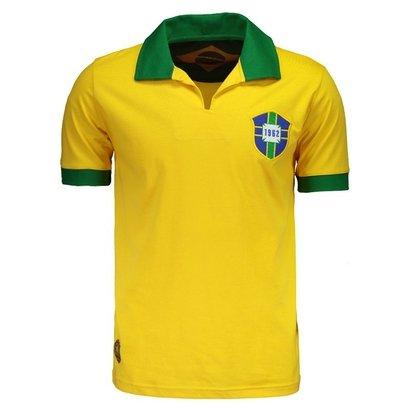 Camisa Brasil Retrô 1962 Masculina