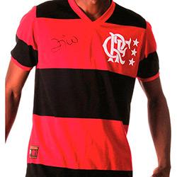 Camisa Braziline Masculina Flamengo Zico Libertadores 81