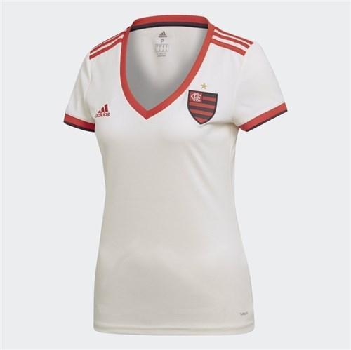 Camisa Feminina Flamengo Adidas Branca (P)