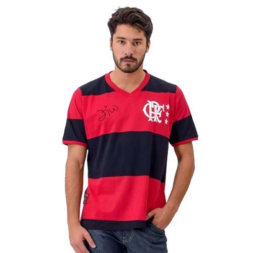 Camisa Fla Libertadores Zico P