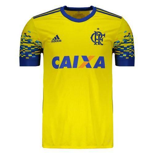 Tudo sobre 'Camisa Flamengo Adidas Amarela III 2017 2018 - CD9621'
