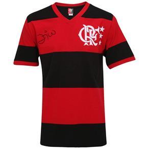 Camisa Flamengo - Braziline Libertadores 81 Zico - P