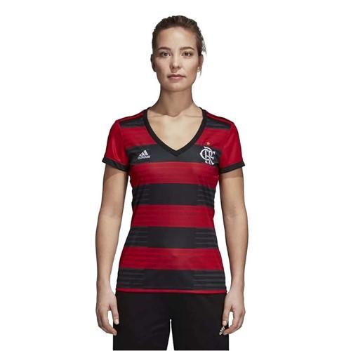 Camisa Flamengo Feminina Jogo 1 Adidas 2018 P