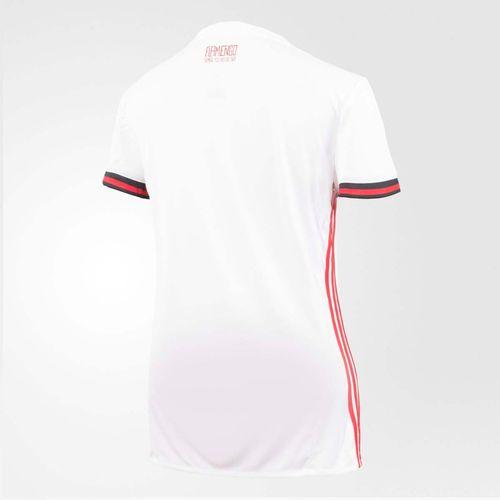 Camisa Flamengo Feminina Jogo 2 Adidas 2017
