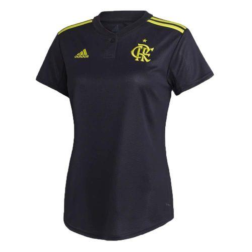 Camisa Flamengo Feminina Jogo 3 Adidas 2019 M