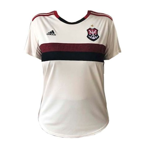 Camisa Flamengo Feminina Jogo 2 Adidas 2019 M