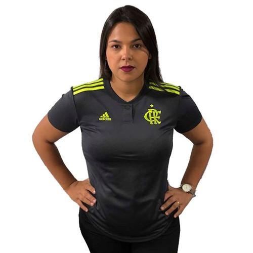 Camisa Flamengo Feminina Jogo 3 Adidas 2019 P