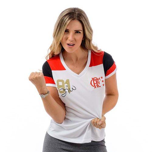 Camisa Flamengo Feminina Retro Zico