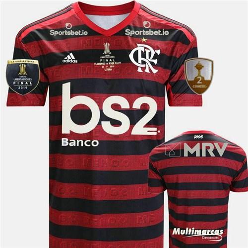 Camisa Flamengo Final Libertadores 2019 (P, Personalizável)
