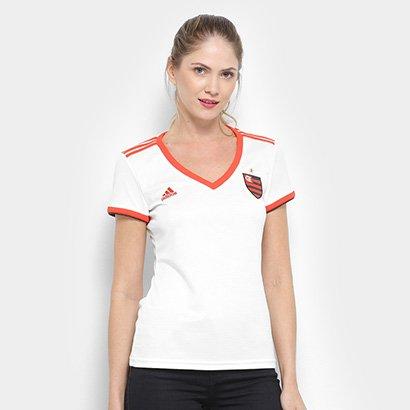 Camisa Flamengo II 2018 S/n° - Torcedor Adidas Feminina